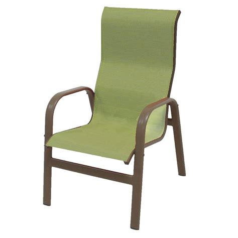 outdoor seat cusions hton bay mix and match stackable sling outdoor dining