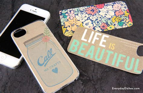 printable iphone case template fun family crafts