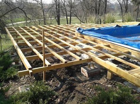 Wie Heimwerker Selbst Eine Terrasse Bauen by Wie Baue Ich Eine Holzterrasse