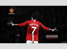 Cristiano Ronaldo Red Legends Manchester United Wallpapers