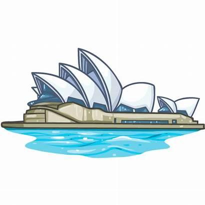 Opera Sydney Clipart Cartoon Boat Clip Transparent