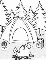 Camping Coloring Pages Printable sketch template