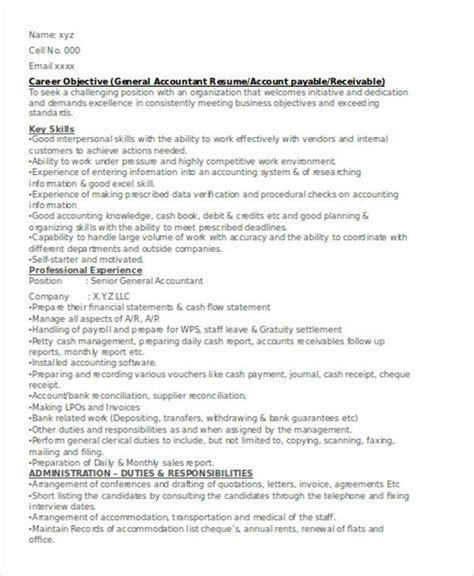 They're for a job offer that values accounting it skills, account reconciliation, and account analysis. 26+ Accountant Resume Templates - PDF, DOC   Free & Premium Templates