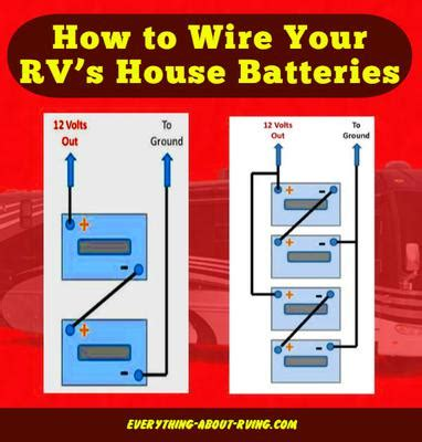 how do i wire the batteries on my motorhome