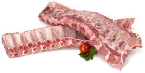 costillar de cerdo pieza entera de kg aprox nou