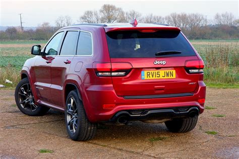 jeep grand cherokee srt   review parkers