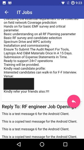 android recyclerview   scrollview
