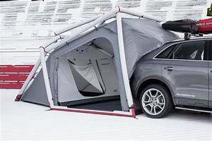 Hemiplanet U0026 39 S New Inflatable Tent Turns The Audi Q3 Into A Camper Vehicle