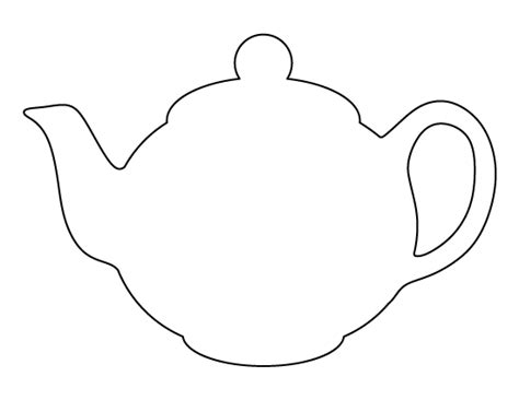 teapot template pin by lesley j jackson on craft templates printables templates applique
