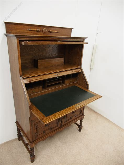 bureau bookcase oak bureau bookcase antiques atlas