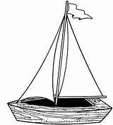 Pages Boat Coloring Sailing Fishing Play Boats sketch template