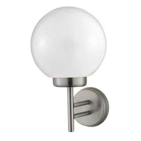 globe outdoor wall light stainless steel cef