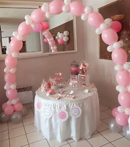 Décoration Table Bapteme Fille : le bapt me traditionnel de ta ssa gabriela en rose et blanc ~ Farleysfitness.com Idées de Décoration