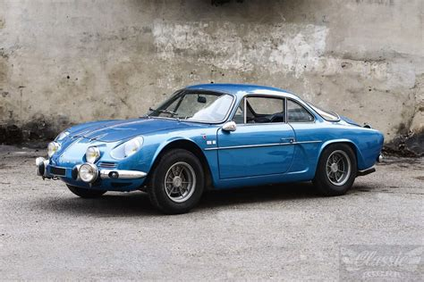 Alpine Renault by Alpine Renault A 110 1300 G Classic Racing Annonces