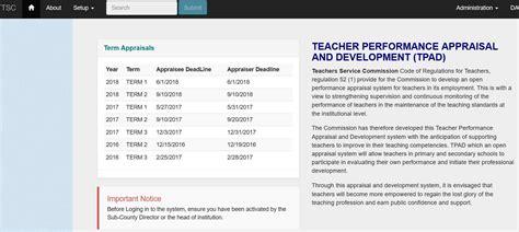 filling the appraisal form tsc tpad teachers appraisal online form filling