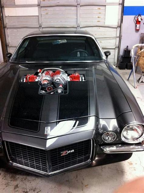 70 Camaro Z28 with Blower