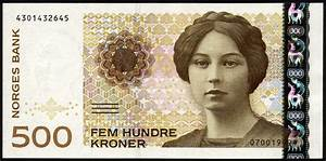 500 Norwegian Kroner note|World Banknotes & Coins Pictures ...