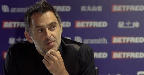 Ronnie o'sullivan is not overly impressed with fans' behaviour. Snooker Legend Ronnie O'Sullivan Compares Himself To Tyson ...