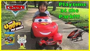 Disney Cars Lightning McQueen Power Wheels Playtime at the ...