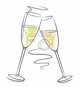 Sektgläser Schwarz Weiß : sektgl ser feste feiern mit schwung fototapete fototapeten weinkarte heiratsantrag ~ Watch28wear.com Haus und Dekorationen