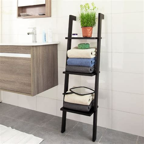 leaning ladder shelf 11 best bathroom ladder shelves for toilet storage reviews