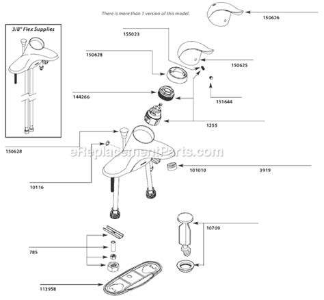 Faucet Aerator Assembly Diagram by Moen Faucet Aerator Assembly Diagram Faucet Design
