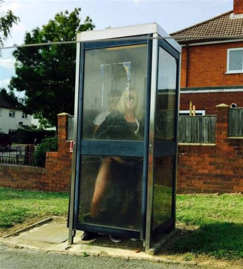 Staffordshire Couple Caught Having Sex In Phone Box On Way
