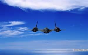 Blackbird Fighter Jet