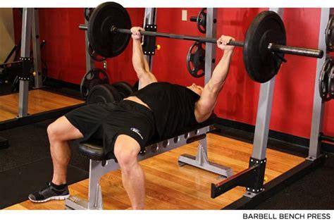 barbell bench press bodybuilding s 10 highest chest exercises