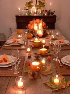 Herbst Dekoration Tisch : sch ne tischdeko f r halloween foto g tegemeinschaft kerzen deko pinterest herbst ~ Frokenaadalensverden.com Haus und Dekorationen