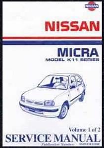 Nissan Micra K11 Series 1995 On Factory Service Repair