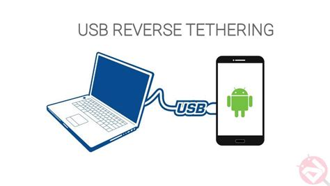 usb tethering android your computer s connection with your