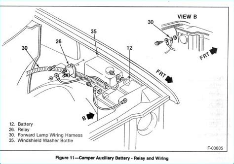 1989 Chevy 1500 Battery Wiring Diagram by How Do I Correctly Wire An Auxiliary Battery 99 Suburban