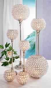 Teelichthalter Glas Mit Stiel : premium collection by home affaire kerzenst nder 2 stck ~ A.2002-acura-tl-radio.info Haus und Dekorationen