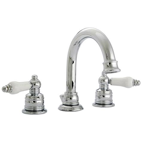 670 series widespread sink faucet set with ceramic lever handles inserts