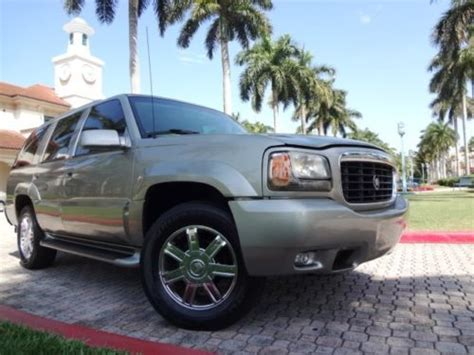 how can i learn about cars 2000 cadillac deville windshield wipe control sell used 2000 cadillac escalade 4x4 clean carfax beautiful rust free florida vehicle rare in