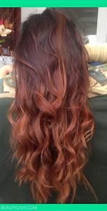 Ombré Hair Auburn : best 25 auburn ombre ideas on pinterest hair colours 2016 dark auburn hair color and ginger ~ Dode.kayakingforconservation.com Idées de Décoration
