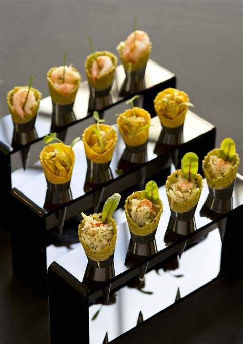 canape service 195 piccadilly canapes coronation chicken cones