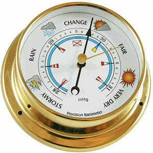 "Ambient Weather BAROMETER-26 5"" Barometer, USA Version"