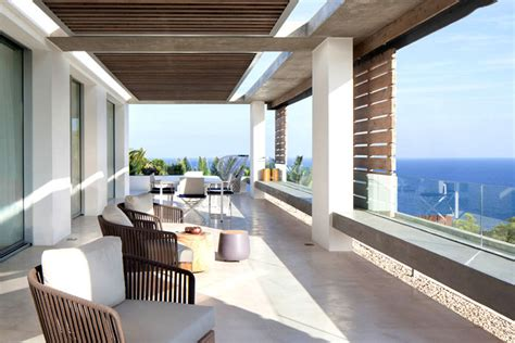 spanish style modern villa in ibiza interiorzine