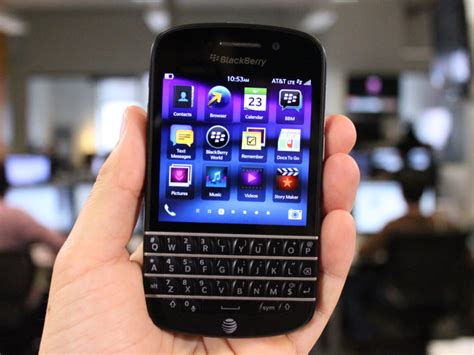 blackberry q10 review the keyboard is back business insider
