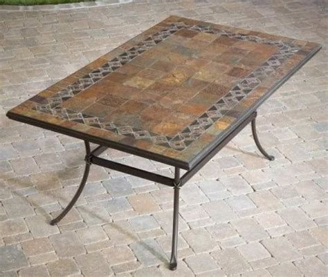 mosaic outdoor side table mosaic patio tables tedx decors the beautiful of