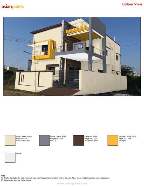 asian paints exterior colour combinations exterior colour combinations pinterest