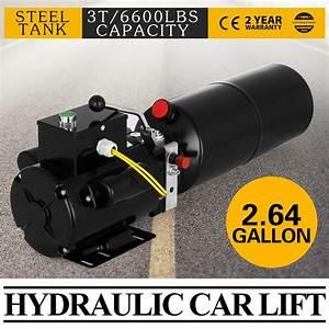 Ebay  Sponsored 220v Car Lift Hydraulic Power Unit Auto