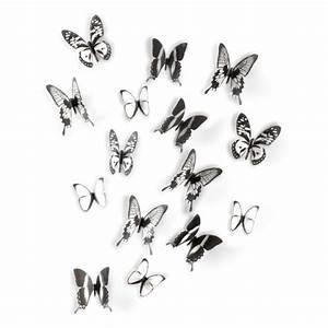 Papillon Décoration Murale : d coration murale papillon chrysalis umbra d co papillon ~ Teatrodelosmanantiales.com Idées de Décoration