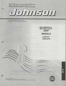 2003 Omc Johnson 40 Hp Models Parts Manual  790