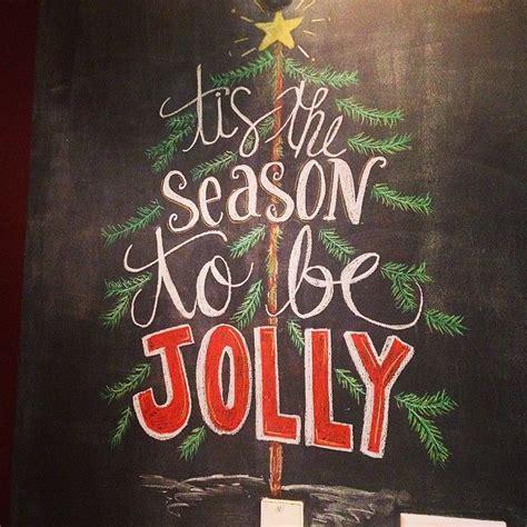 colorful holiday chalkboard walls