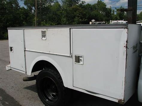 Stahl Utility Bed by Purchase Used Stahl Utility Bed Running 7 3