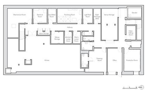 factory floor plan bureau v converts an sawdust factory into a Industrial