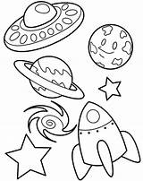 Coloring Solar System Printable Sheets sketch template